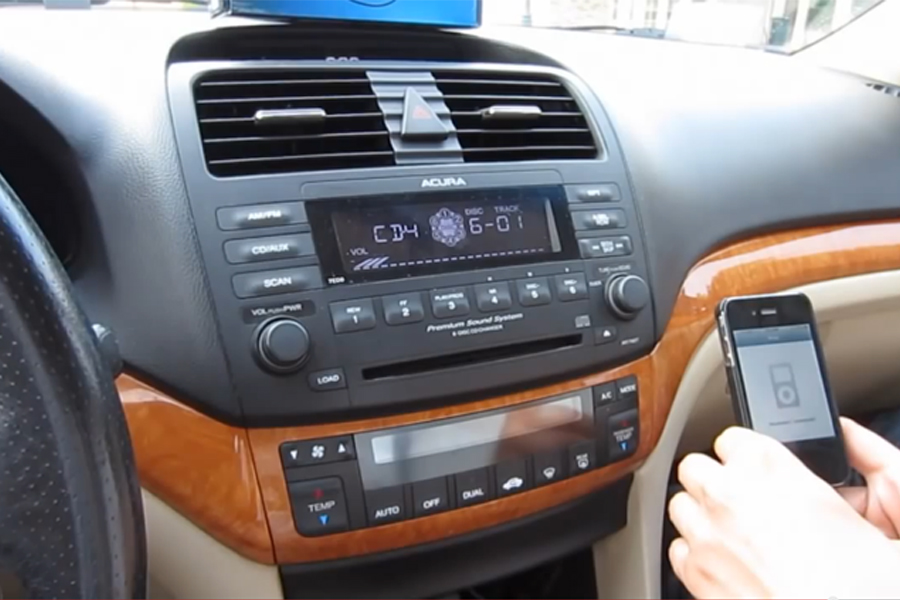 Bluetooth and iPhone/iPod/AUX Kits for Acura TSX 2004-2008 ...