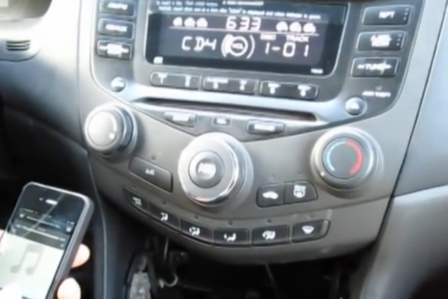 bluetooth and iphone ipod aux kits for honda accord 2003