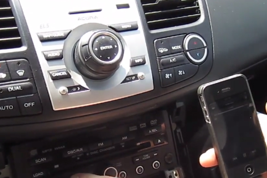 AUX and iPhone Car Kit for Acura RDX 2007-2012