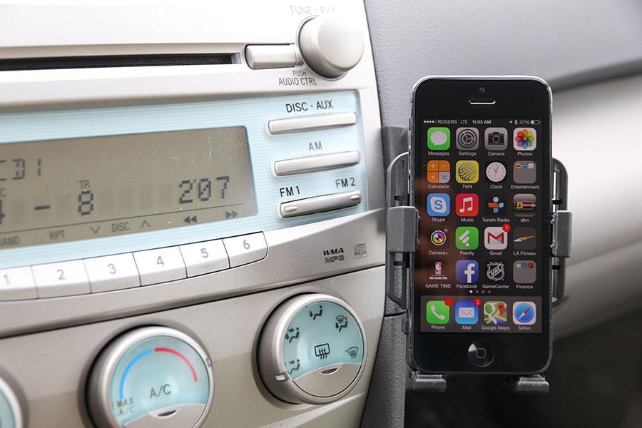 Toyota Camry 2007 2011 Premium Phone Holder Dash Mount