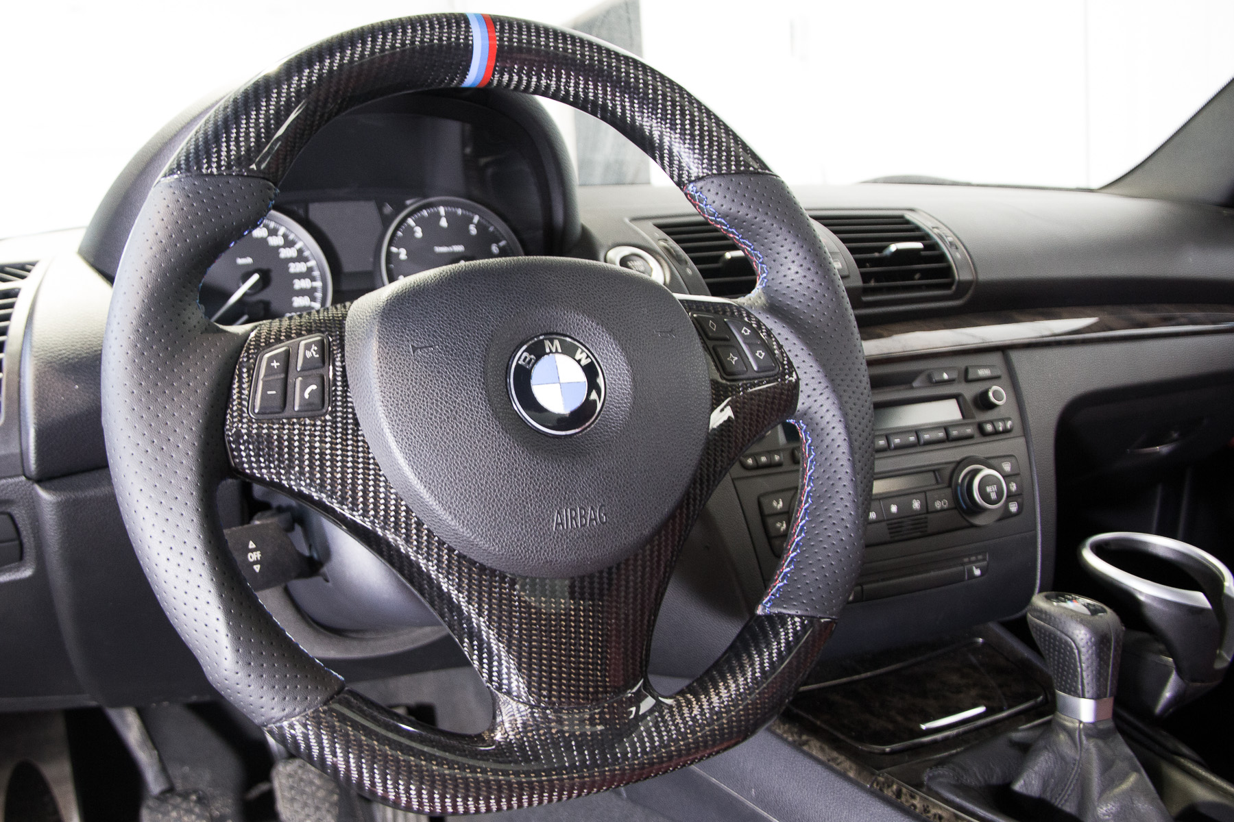 Bmw 335i Carbon Fiber Steering Wheel