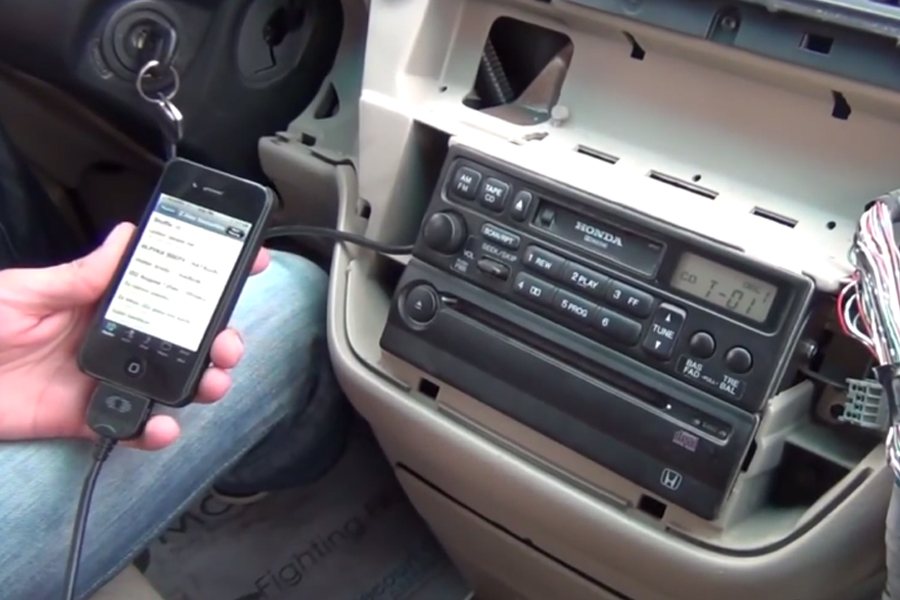 Bluetooth And Iphone Ipod Aux Kits For Honda Odyssey 1999