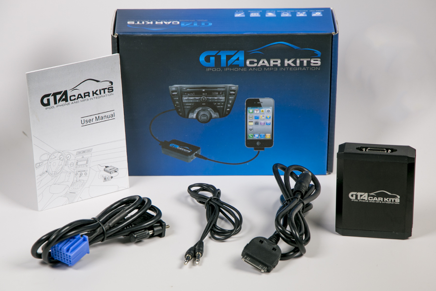 gta car kit bluetooth and iphone ipod aux kits for honda odyssey 2005 2010 Honda Stereo Wiring Diagram at bayanpartner.co