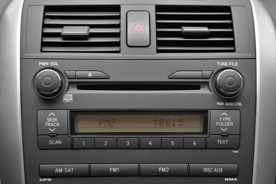 Toyota Corolla 2009 2013 Iphone Aux Kit on toyota camry 2014 audio system