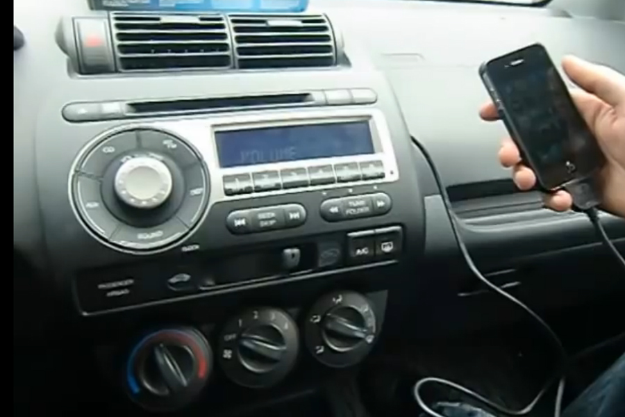 Bluetooth And Iphone Ipod Aux Kits For Honda Fit 2006 2008
