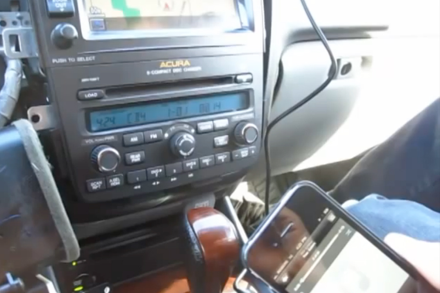 Acura GTA Car Kits - 2004 acura tsx aux input