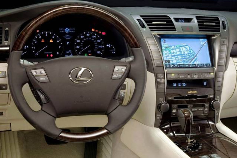Bluetooth And IPhoneiPodAUX Kits For Lexus LS 2007 2011