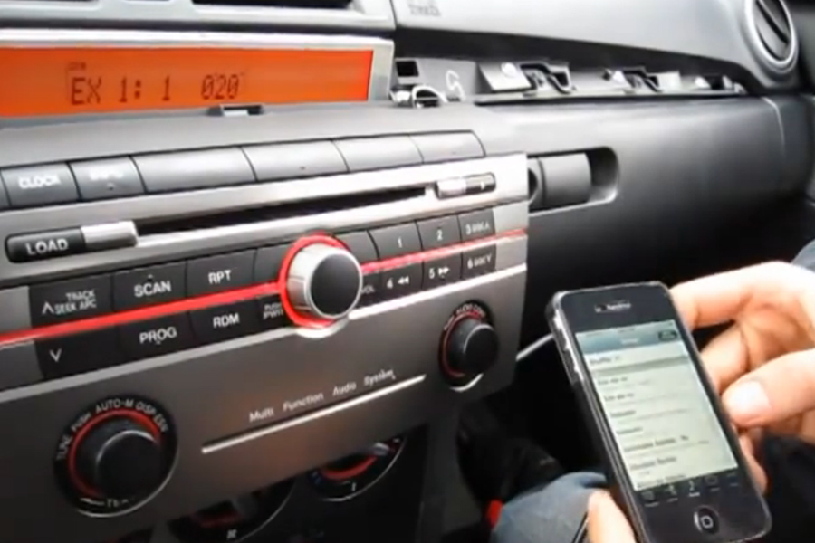 mazda 3 2006 radio replacement