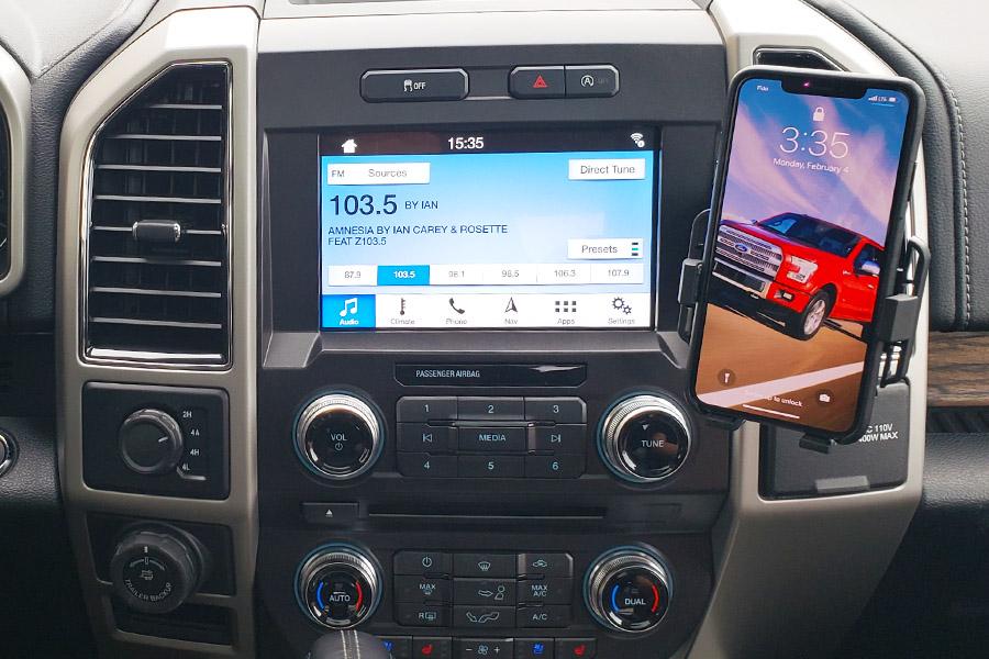 Ford F150 2015 2019 Premium Phone Holder Dash Mount Swivel