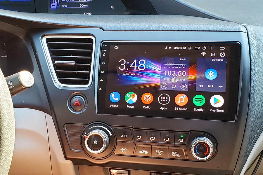 android car stereo  honda civic   gta car kits