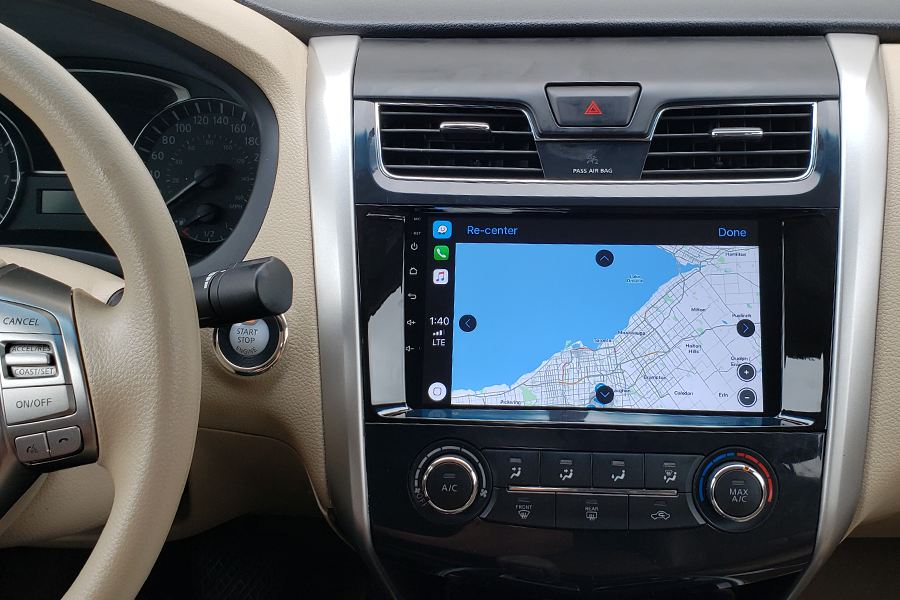 android car stereo for nissan altima 2013 2018 gta car kits. Black Bedroom Furniture Sets. Home Design Ideas