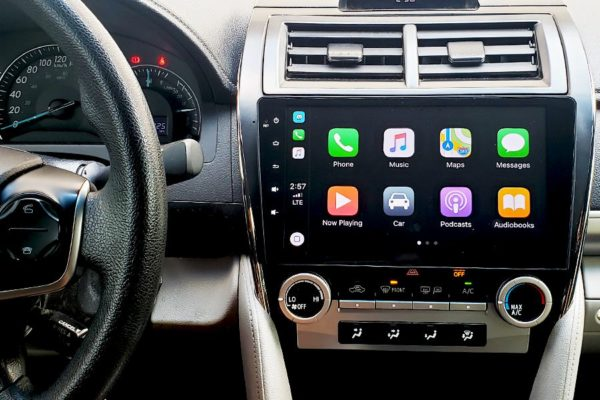 Camry 2012 In Dash Screen Free Installation
